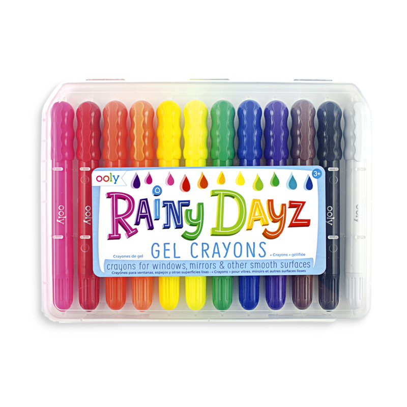 Rainy Dayz Crayons - Set of 12 Ooly