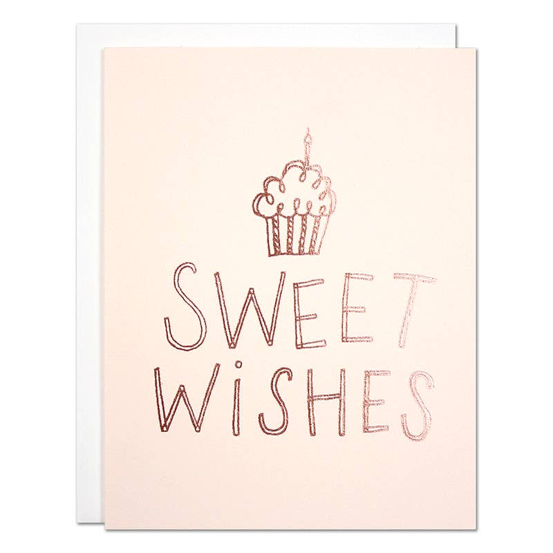 Sweet Wishes Birthday Card Parrott Design Studio