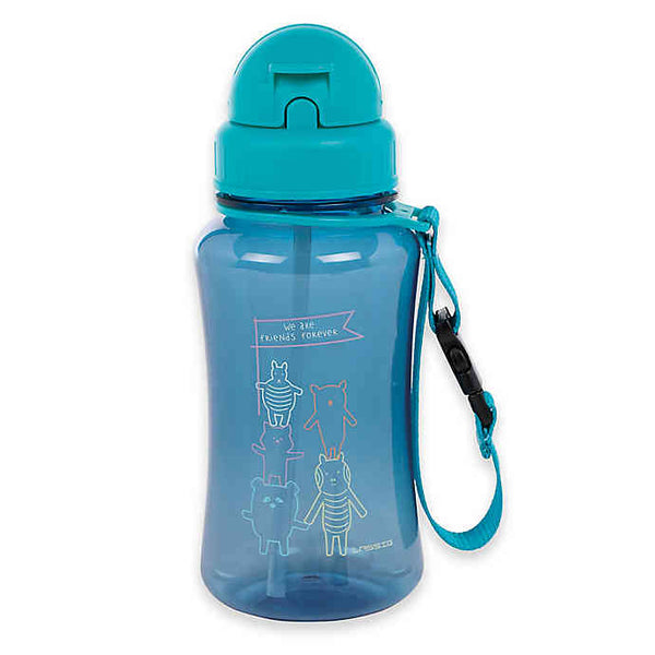 About Friends Water Bottle - Blue