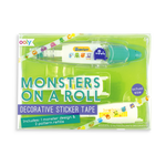 On a Roll Decorative Tape - Monsters