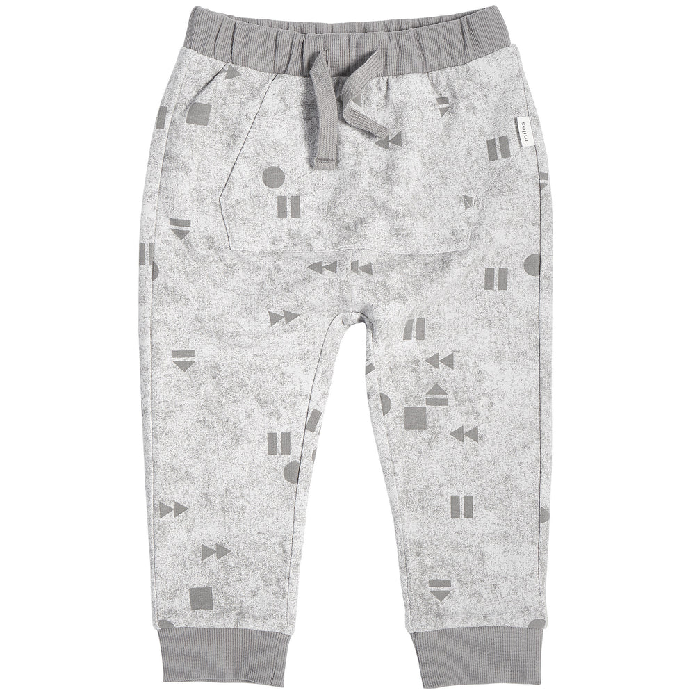 "Light Grey ""Play/Replay"" Jogger"