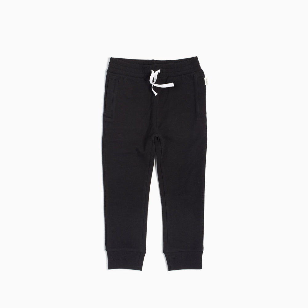Knit Jogger Pants, Black