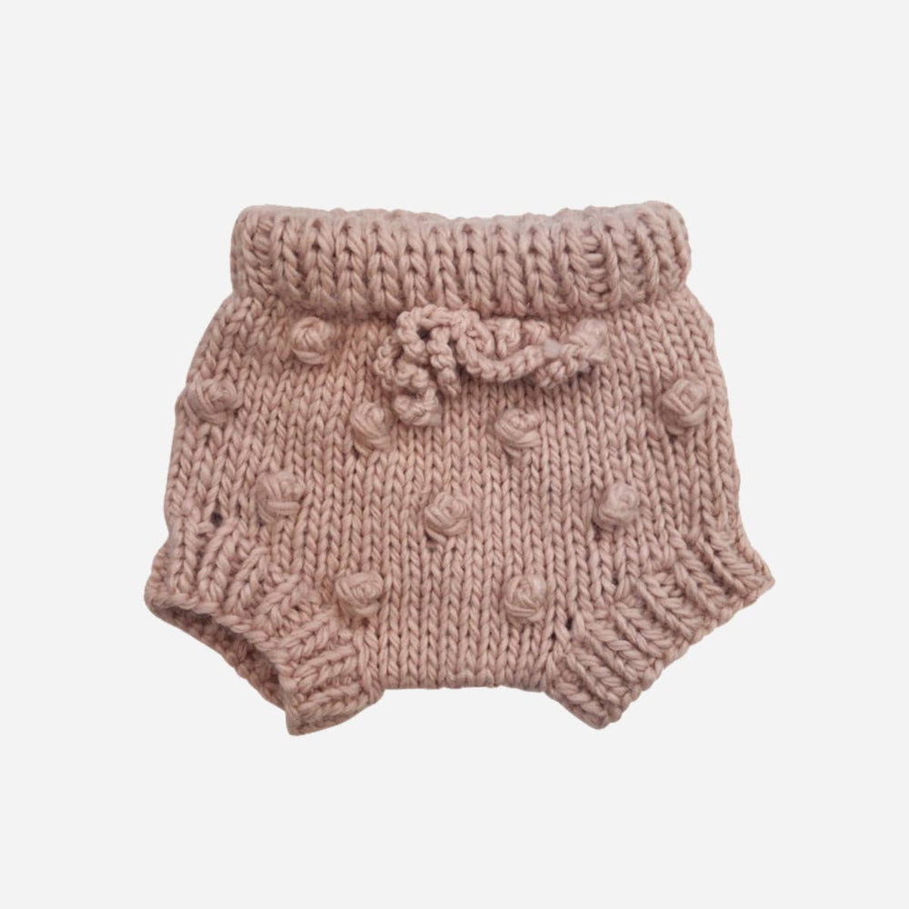 The Blueberry Hill Hand Knit Acrylic Bloomers, Blush