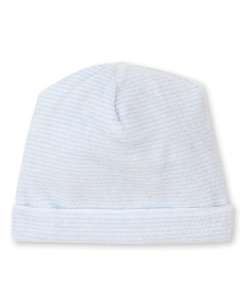 Velour Hat, Light Blue