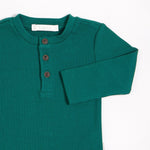 Jolly Rockefeller Henley Top, Dark Green