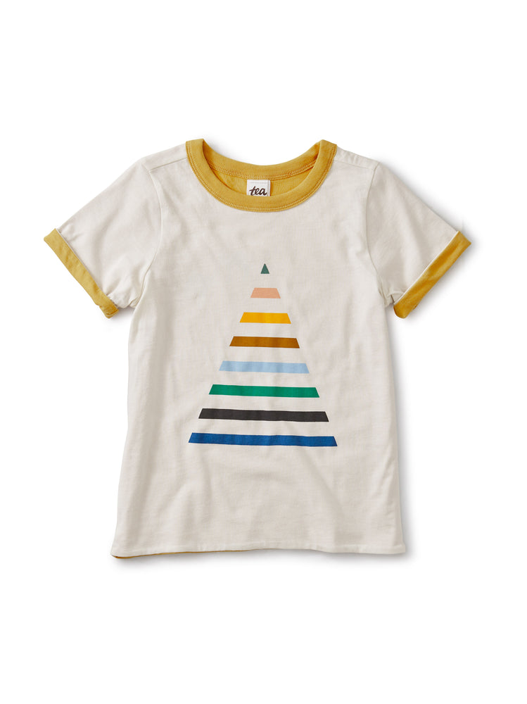 Reversible Pyramid Tee, Birch