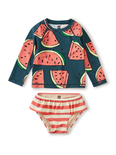 Rash Guard Set, Watermelons