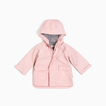 ''MILES BASIC'' Light Pink Anorak Rain Coat