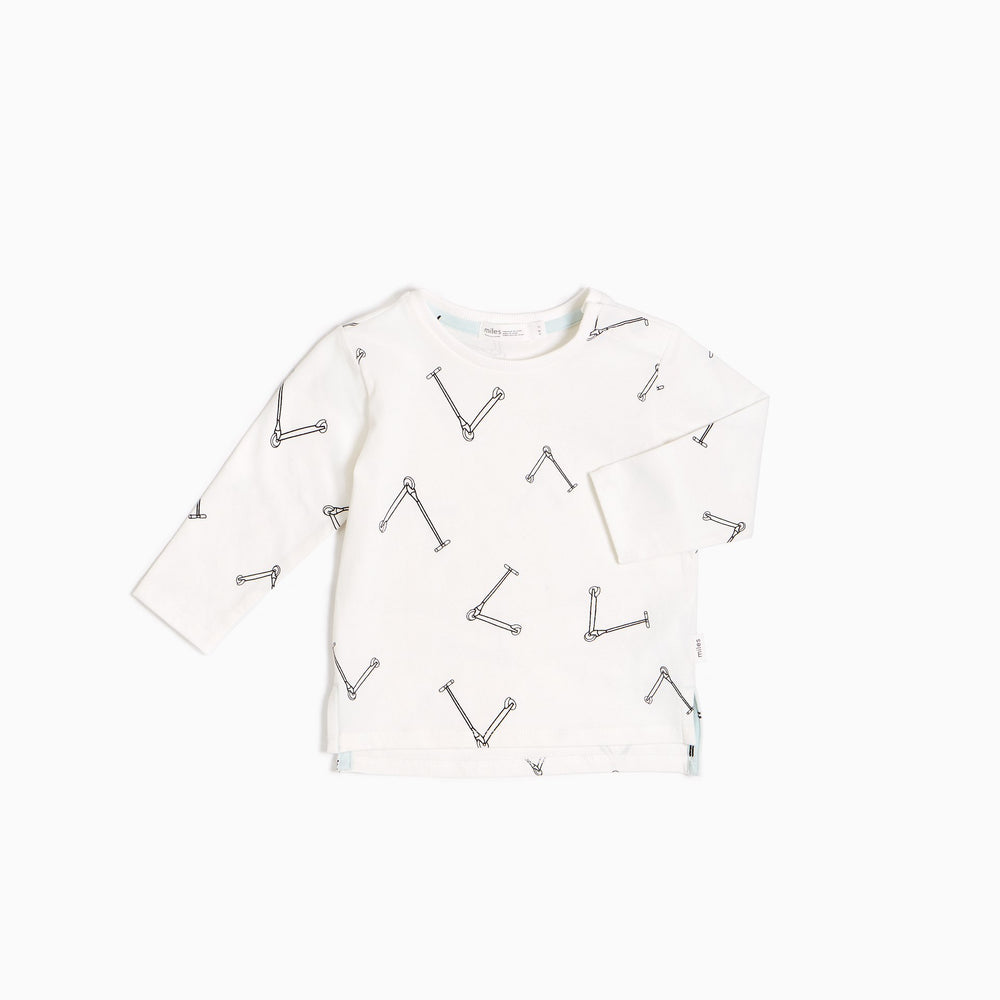 Off-White Scooter Long Sleeve Top