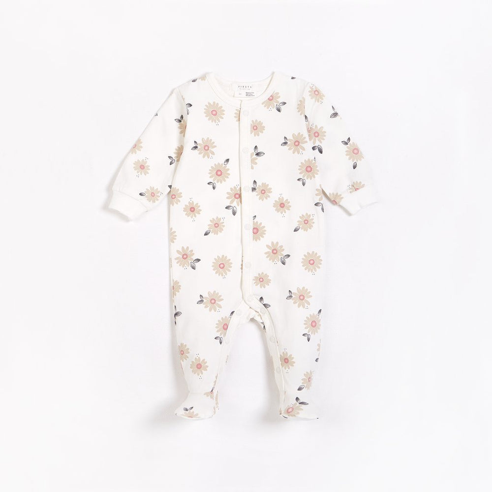 Paris in Bloom Footed Onesie