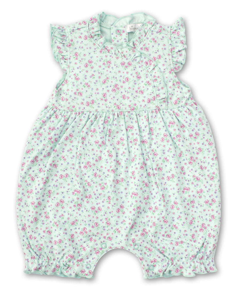 Dusty Rose Short Playsuit, Mint