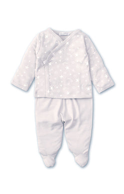Starry Sky Footed Pant Set