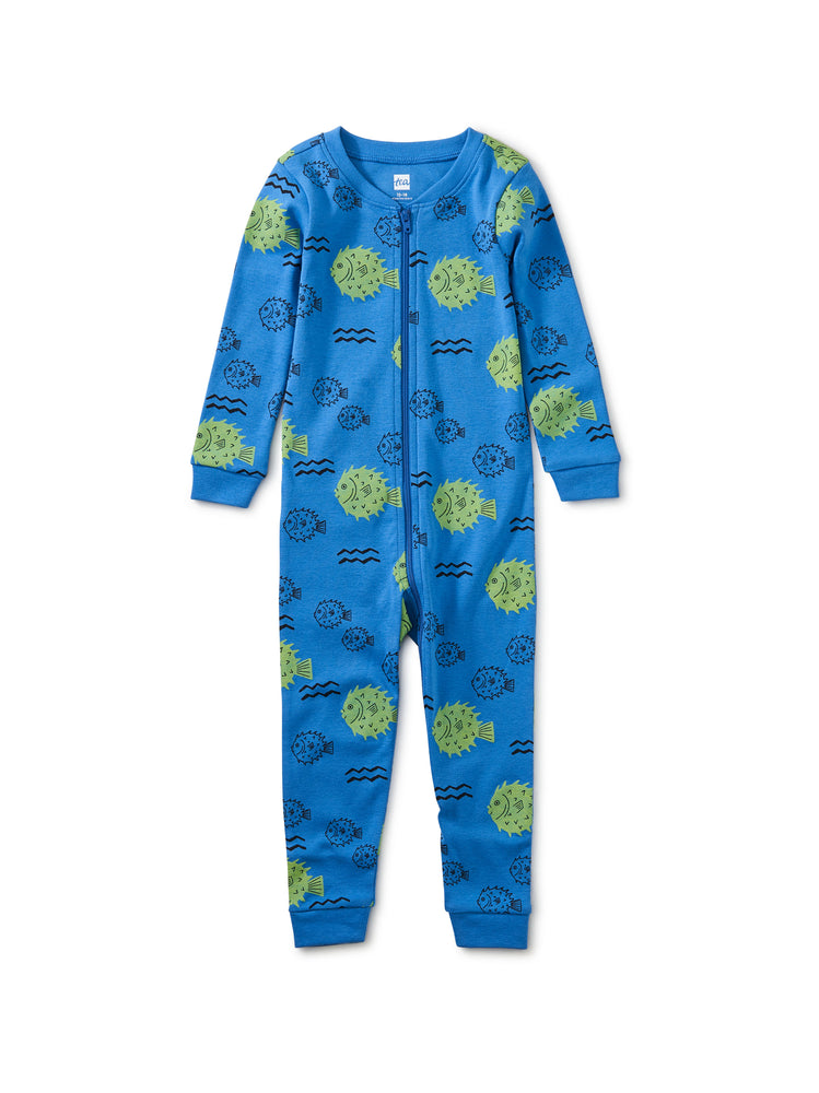 Sleep Tight Baby Pajamas, Blowfish Buds