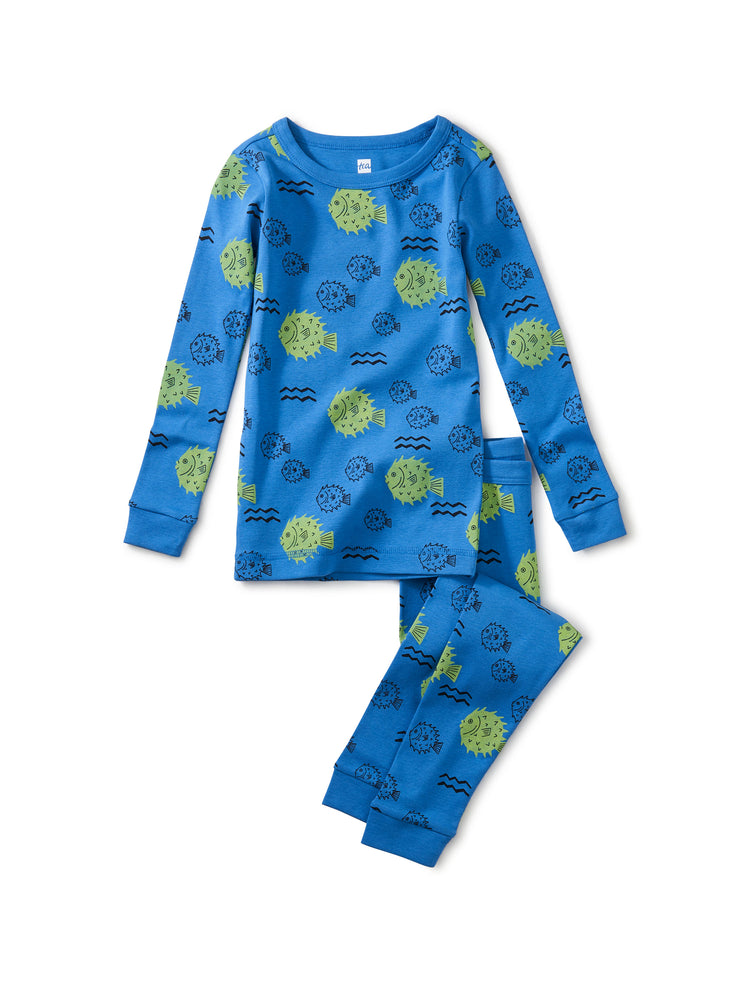 Slumber Party Pajama Set, Blowfish Buds