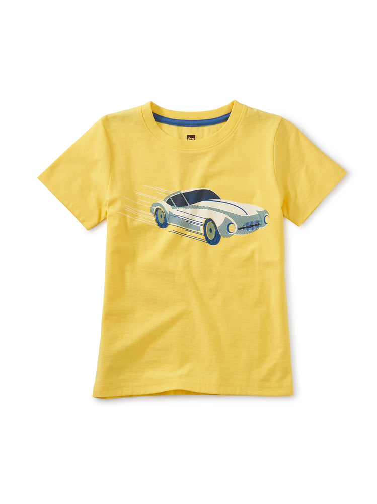 Tea Collection Sports Car Graphic Tee, Sunlight