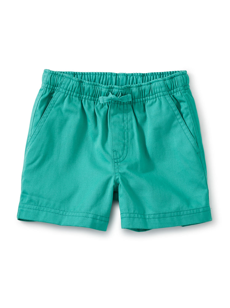 Twill Sport Shorts, Light Laguna