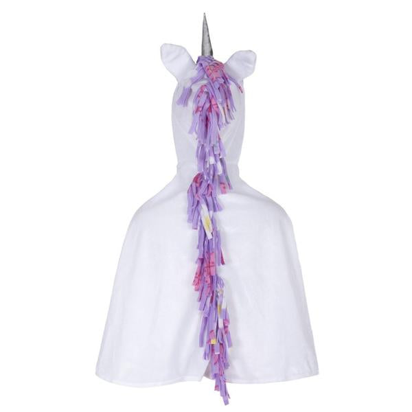 Great Pretenders White Unicorn Cape, 12-24M