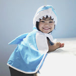 Toddler Shark Cape, 2-3Y