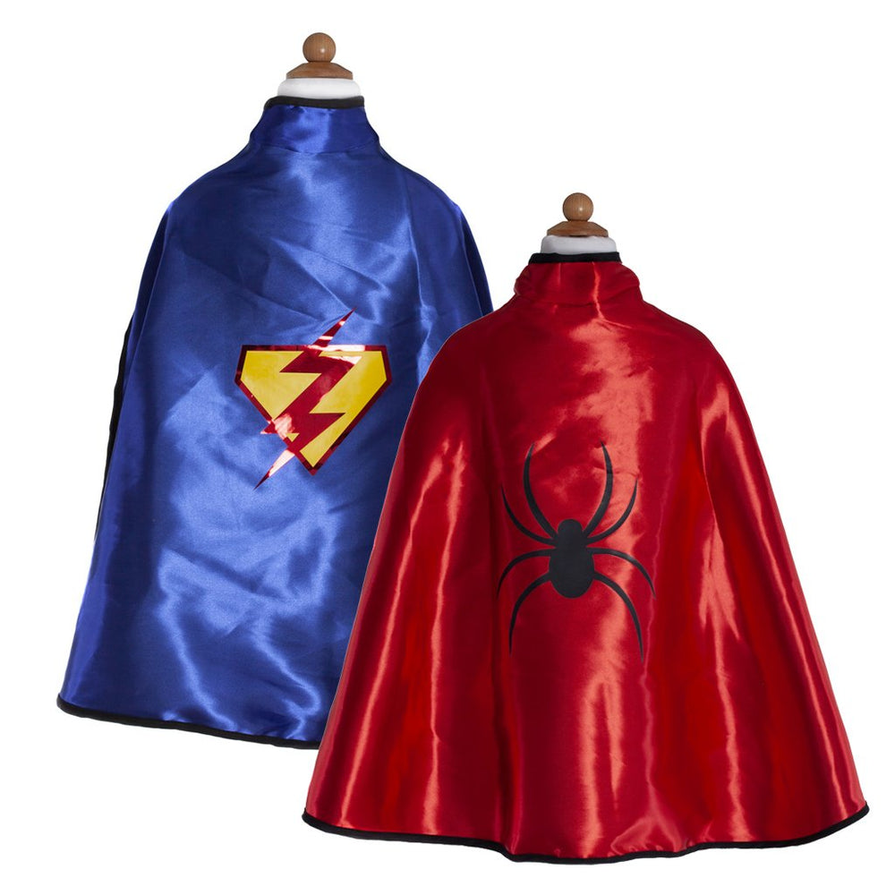Superhero Reversible Adventure Cape and Mask