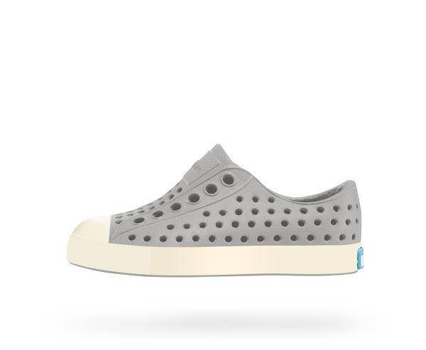 Jefferson Slip-On, Pigeon Gray and White
