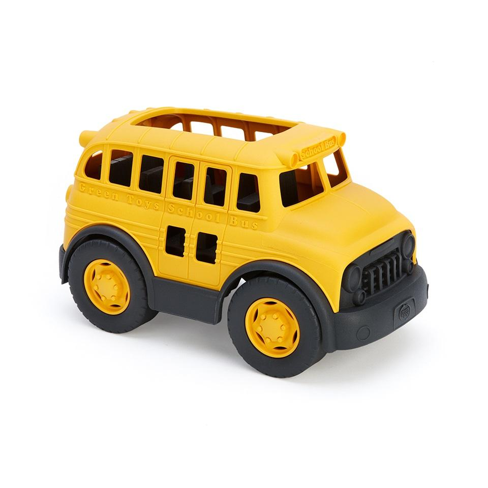 School Bus Green Toys