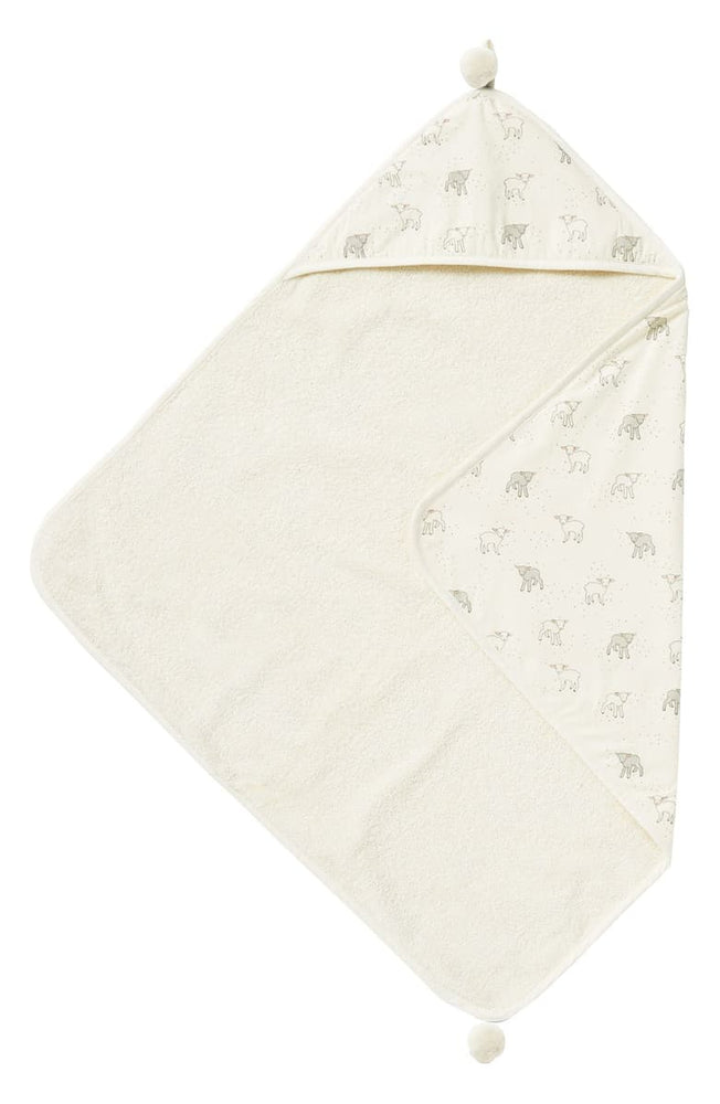 Hooded Towel, Little Lamb