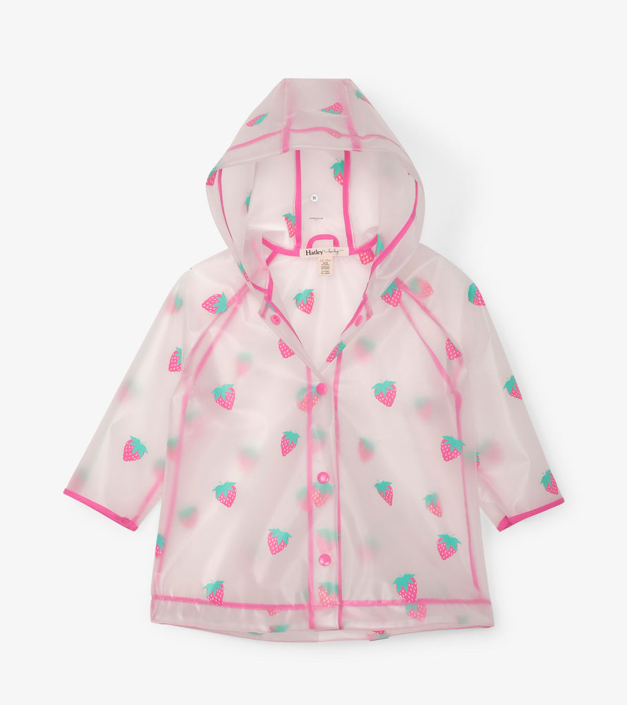 Sweet Treats Clear Baby Raincoat