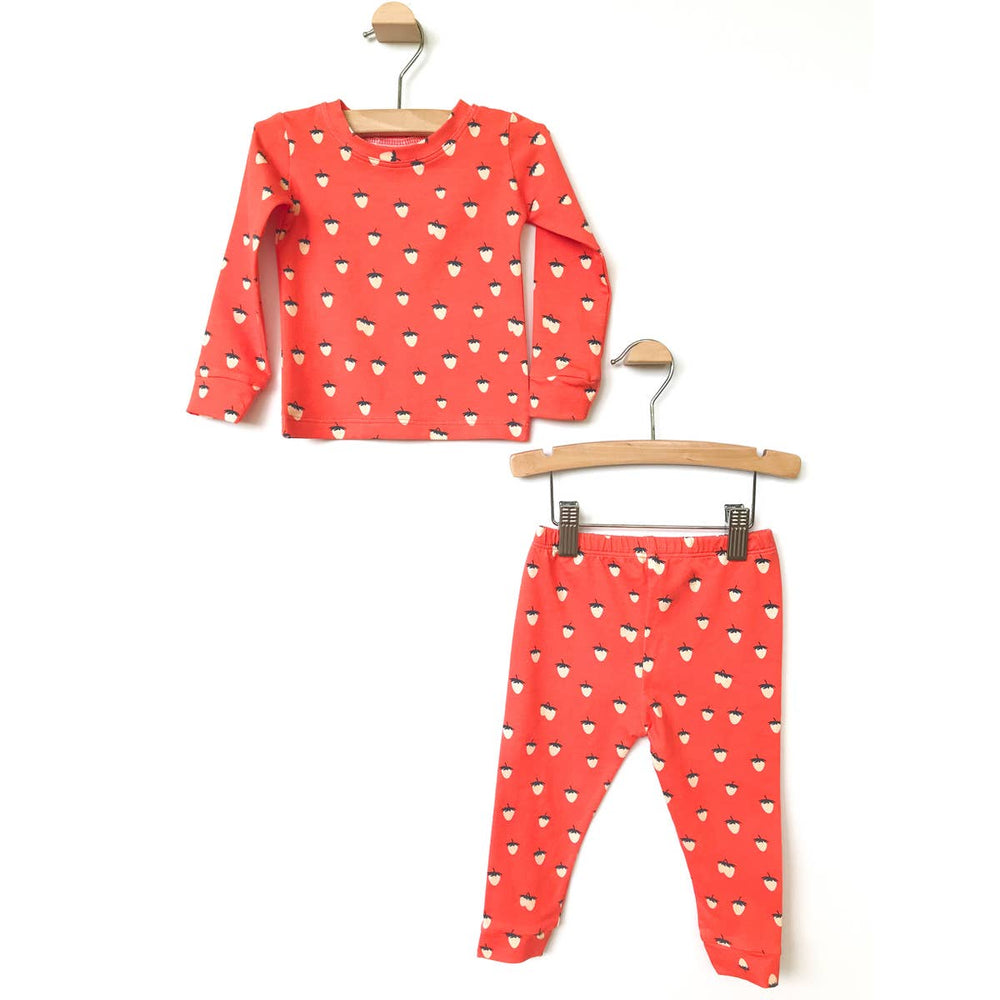 Berry Sweet Two Piece Pajama Set