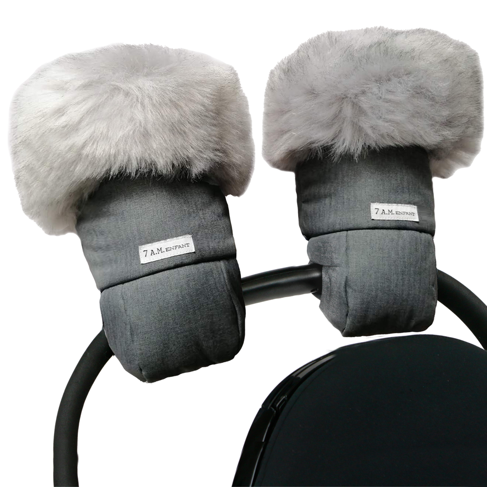 Tundra Warmmuffs - Heather Grey Dark