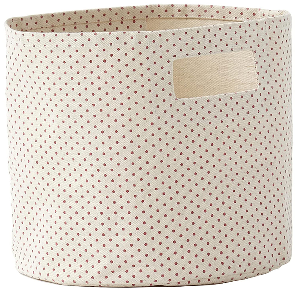 Printed Pint, Pin Dot Dark Pink