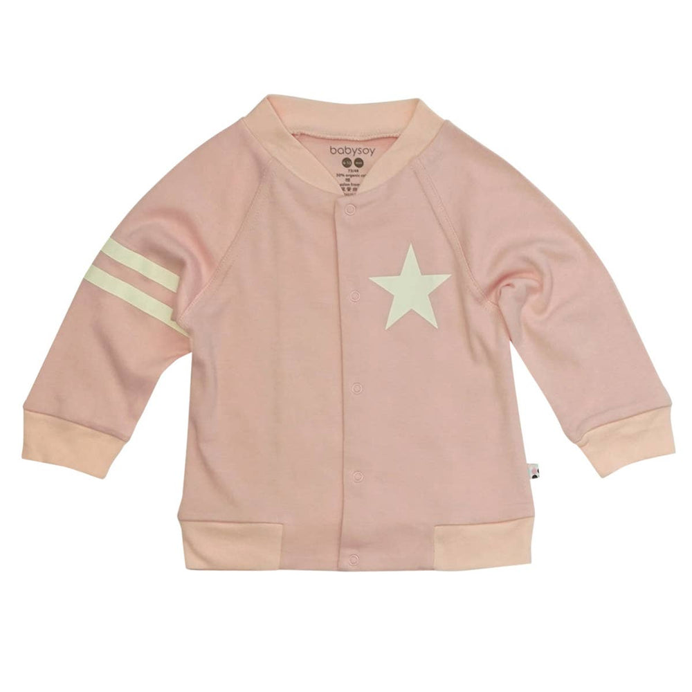 All-Star Varsity Bomber Jacket, Peony
