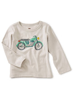 Mini Moto Graphic Baby Tee