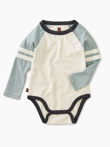 Explorer Colorblock Raglan Bodysuit, Tourmaline