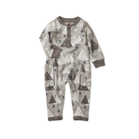 Ski Mountains Romper, Himalayan Ski