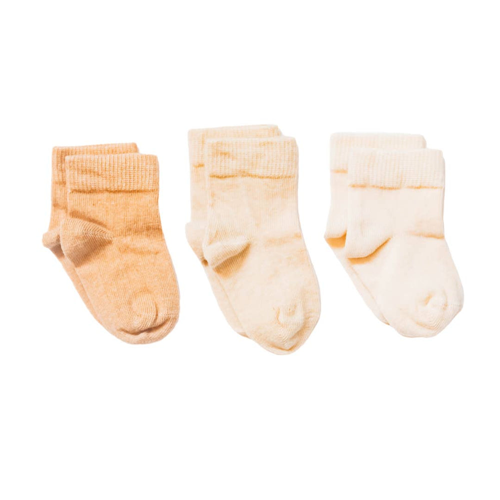 Pure Organic Cotton Baby and Toddler Socks, Pastels