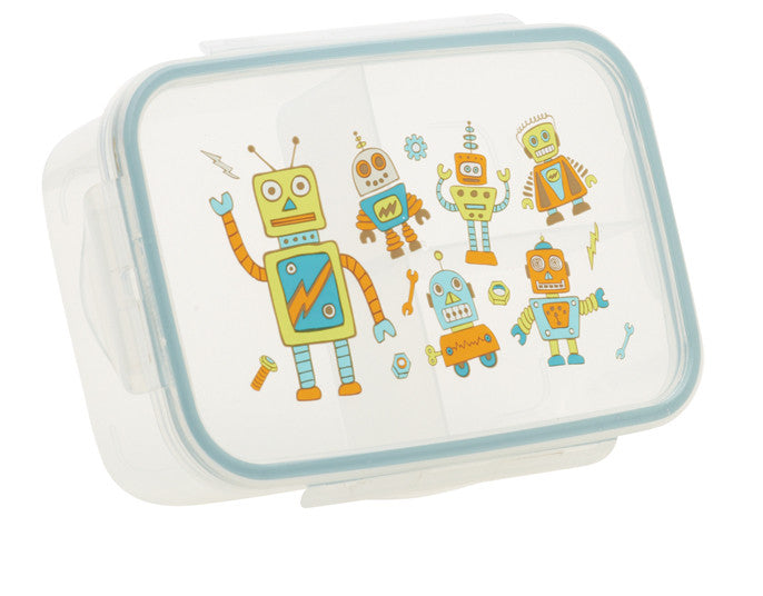 Good Lunch Bento Box, Retro Robot