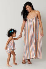 Andie Dress, Multi Stripe