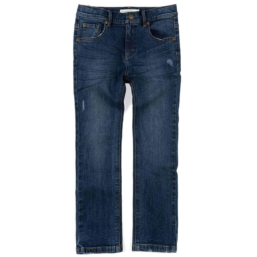 Slim Leg Denim, Medium Wash