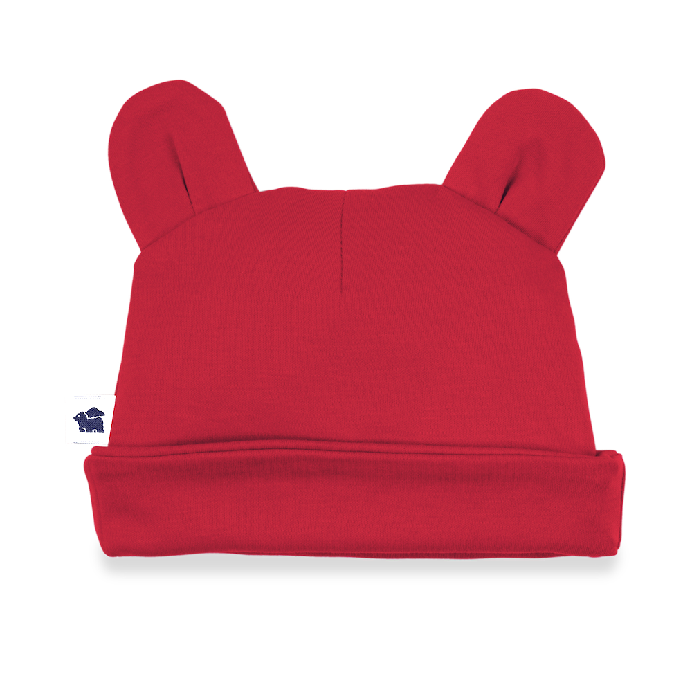 Red Bear Ear Hat, 3M
