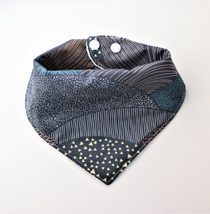 Bandana Bib in Evening Meadow