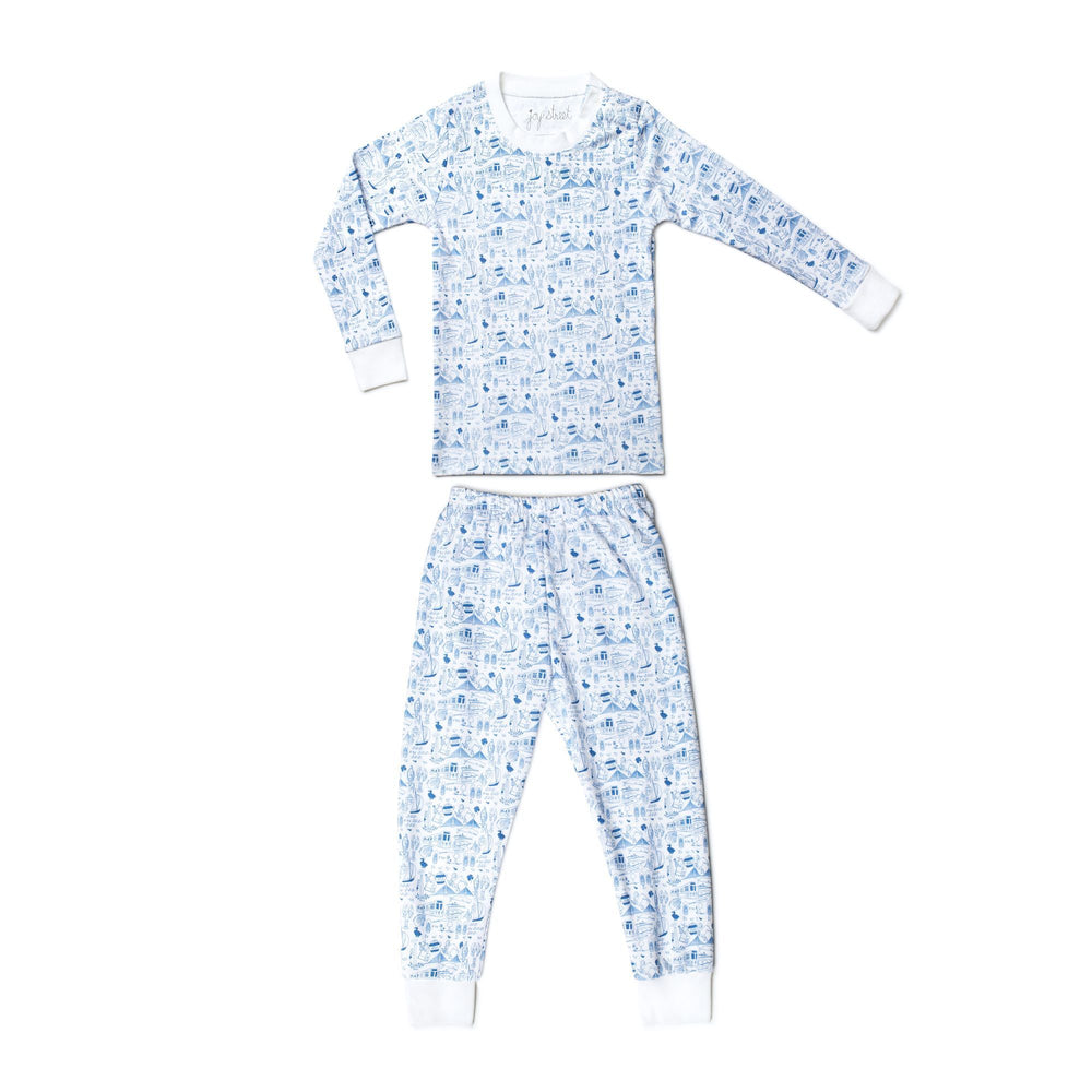 Boston Pajamas, Sailor Blue