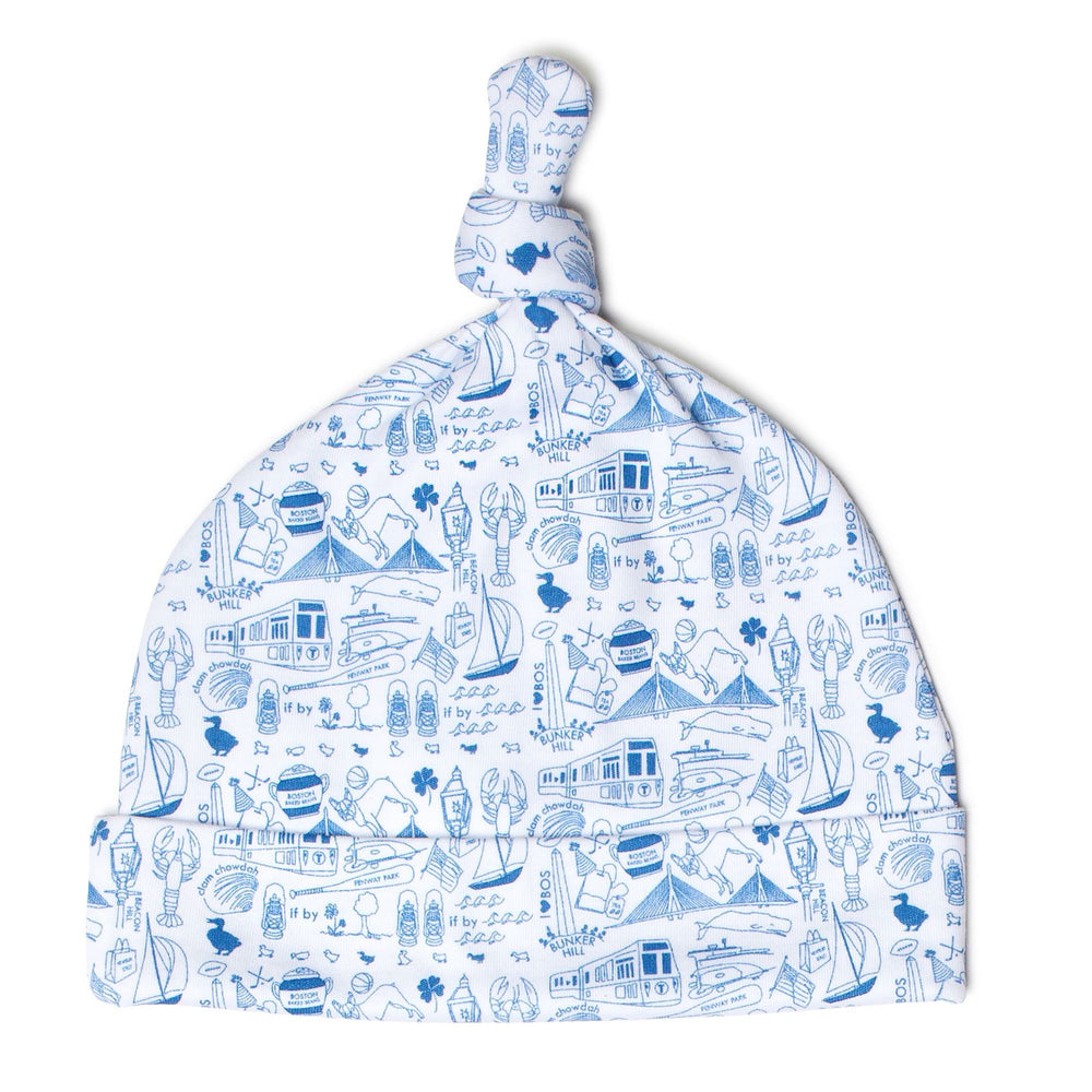 Boston Baby Hat, Sailor Blue