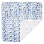 Boston Baby Blanket, Sailor Blue