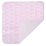 Boston Baby Blanket, Strawberry Ice Cream Pink