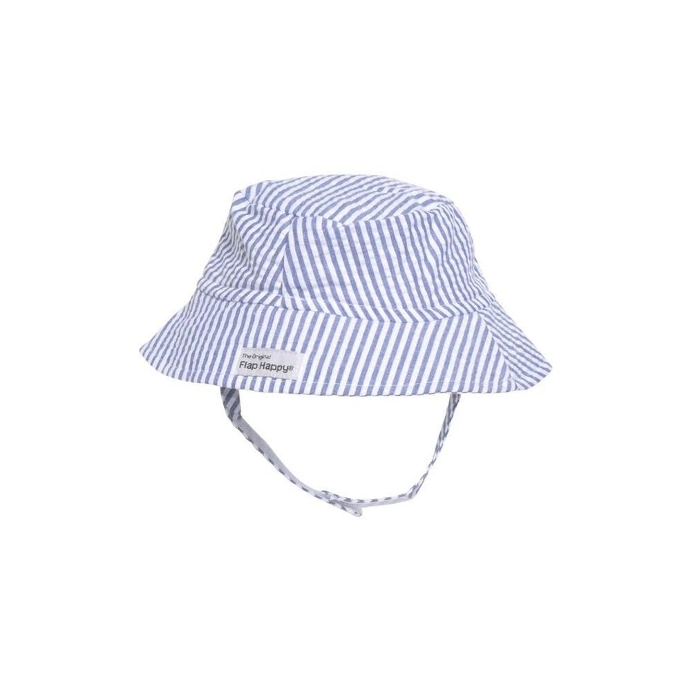 UPF 50+ Bucket Hat | Chambray Stripe