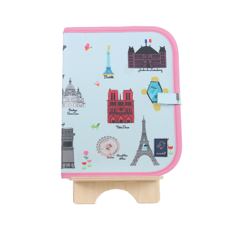 Doodle It & Go Erasable Mat - Paris