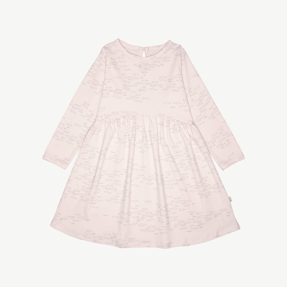 Schooling Fish Dress, Heavenly Pink
