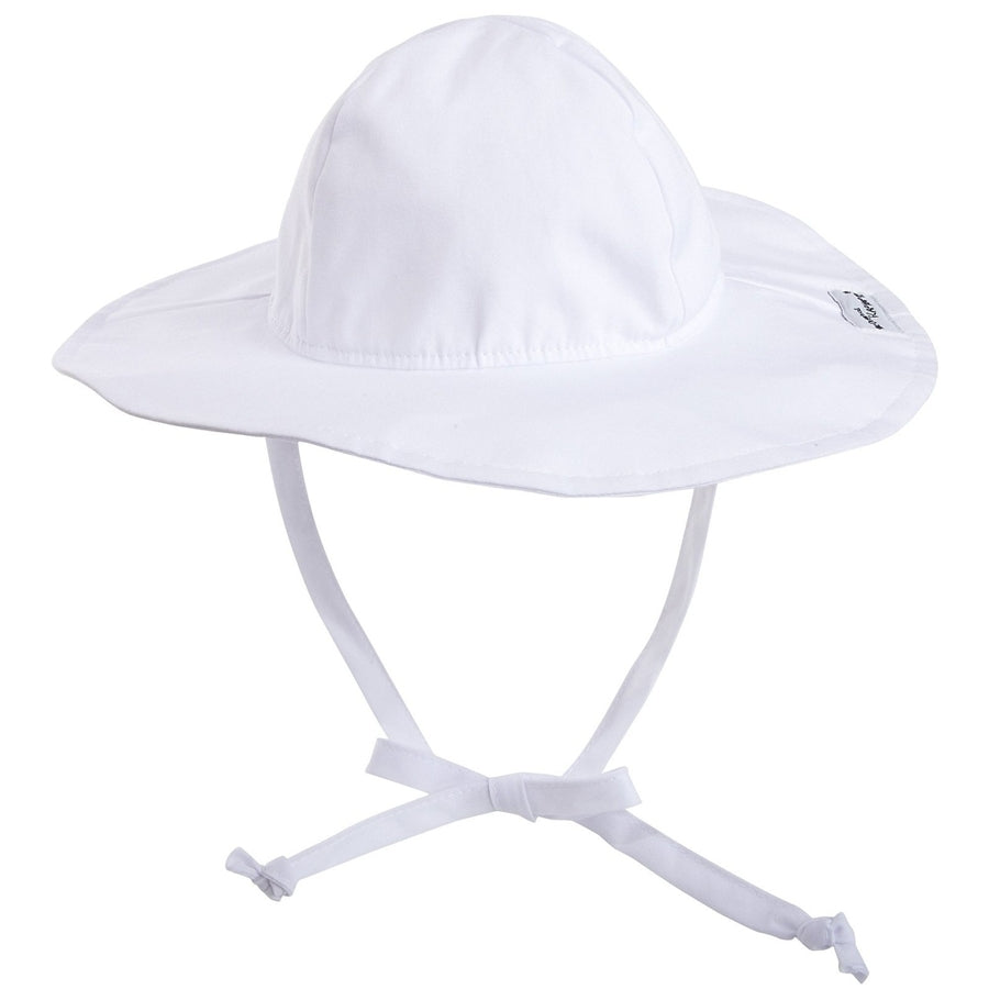 Floppy Hat | White Flap Happy