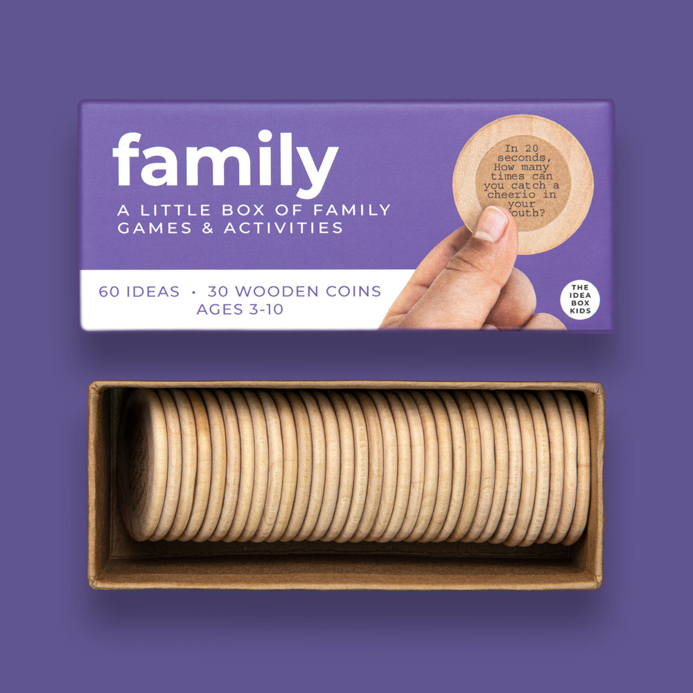 Family Game Night Activities The Idea Box