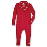 Footless Pajama Onesie 2.0, Red